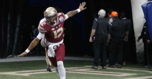 Redshirt freshman Deondre Francois will likely be FSU's starting quarterback. (AP Photo).
