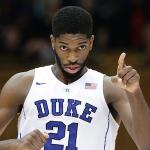 Amile Jefferson has logged 68 career starts for Duke. (AP Photo)