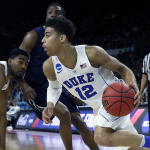 Duke transfer Derryck Thornton could end up at another ACC school. (AP Photo)