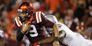 Brenden Motley started six games for Virginia Tech last season. (AP Photo)