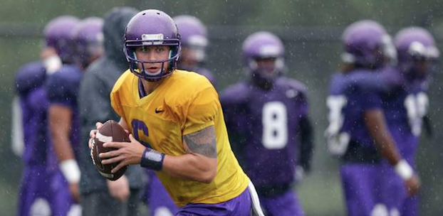 ECU quarterback transfer Kurt Benkert will be in the mix to start at UVa this fall. (AP Photo)