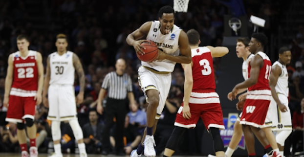 Notre Dame forward V.J. Beachem led the Fighting Irish in three-pointers last season. (AP Photo)