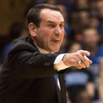 Mike Krzyzewski and . (AP Photo)