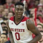 NC State will be down to seven scholarship players on next season's projected roster if forward Abdul-Malik Abu decides to leave the program. (AP Photo)