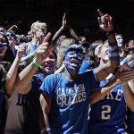The Cameron Crazies are hoping Duke reloads with big men in the 2017 recruiting class. (AP Photo)