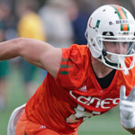 After battling injuries his first two years, Braxton Berrios is looking to make an impact for Miami in 2016. (AP Photo)