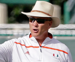Miami head coach Mark Richt (AP Photo)