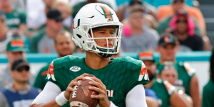 Brad Kaaya has surpassed the 3,000-yard milestone passing each of the last two seasons. (AP Photo)