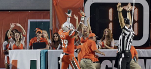 Miami senior Corn Elder (AP Photo)