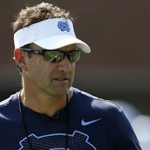 Larry Fedora and UNC are losing a senior offensive lineman to transfer. (AP Photo)