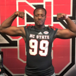 Deslin Alexandre committed to NC State in June. (Source: Twitter account @_Deslin)