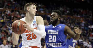 Will Tyler Lydon (left) declare for the 2017 NBA Draft after his sophomore season. (AP Photo)