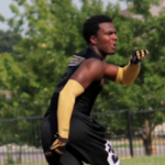 Trenell Troutman committed to Louisville earlier this month. (Source: Twitter account @FlyyNell)