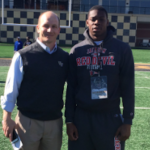 Jeffery Burley (right) committed to Wake Forest on Monday. (Source: Twitter account @JefferyBurley32)