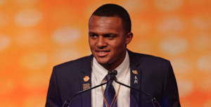 Clemson quarterback Deshaun Watson has grown into a celebrity over the last two years. (AP Photo)