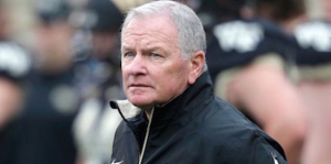 Jim Grobe's tenure at Wake Forest overlapped with Skip Prosser's time in Winston-Salem. (AP Photo)