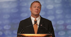 Bronco Mendenhall is entering his first season as Virginia's head coach. (AP Photo)