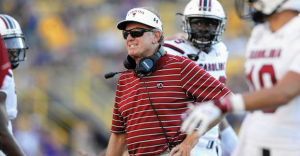 Steve Spurrier resigned from his position as South Carolina's head coach last October. (AP Photo)