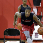 Dennis Smith Jr. is healthy and ready to roll for NC State this season. (AP Photo).