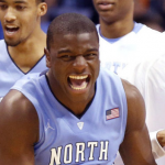 After four years at UNC, Joel James will go play professionally in Japan. (AP Photo).