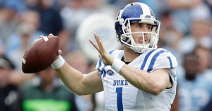 The Blue Devils may be in capable hands without quarterback Thomas Sirk this season. (AP Photo)