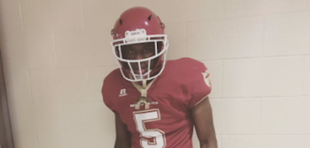 Tre Swilling committed to Georgia Tech on Monday. (Source: Twitter account @TreSwilling)