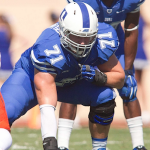 Duke offensive tackle Casey Blaser (Duke Photography)