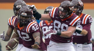 Marshawn Williams (42) will be back for Virginia Tech this season after missing 2015. (AP Photo)