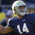 DeShone Kizer started 11 games for Notre Dame in 2015. (AP Photo)