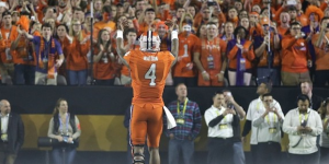 Clemson QB Deshaun Watson has Tiger fans hoping for another ACC title in 2016. (AP Photo).