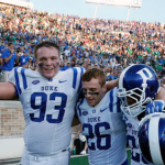 Duke scored a 38-35 victory over Notre Dame on Saturday. (AP Photo)