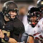 Junior John Wolford (left) has been Wake Forest's full-time quarterback since sophomore Kendall Hinton was sidelined by a knee injury. (AP Photo)
