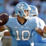 North Carolina quarterback Mitch Trubisky has passed for over 400 yards in each of his last two games. (AP Photo)