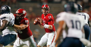 NC State quarterback Ryan Finley has completed 76.3 percent of his passes through three games this season. (AP Photo)