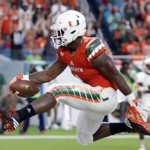 Miami running back Mark Walton has seven rushing touchdowns through three games. (AP Photo)