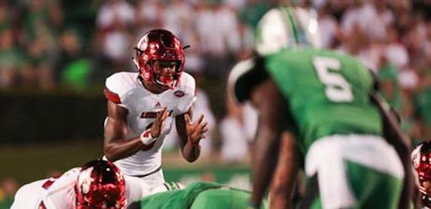 Lamar Jackson will lead Louisville into their second top 10 matchup this season. (AP Photo).