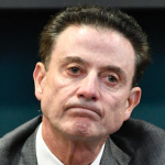 The NCAA alleges that Louisville head basketball coach Rick Pitino failed to monitor former staffer Andre McGee. (AP Photo)