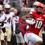 Jaire Alexander took back a punt 69 yards for a score against Florida State. (AP Photo).