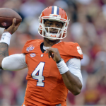 Deshaun Watson is normally accurate, but he's had his troubles against Louisville. (AP Photo).