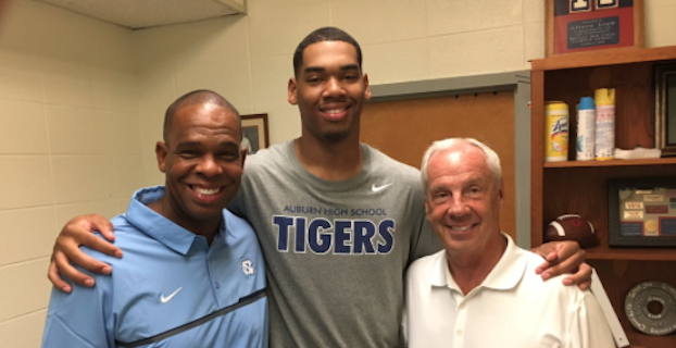 Garrison Brooks poses