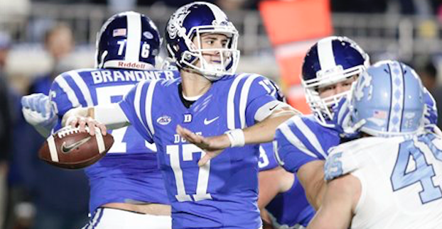 What Does Sirk S Return Mean For Duke S Qb Situation In 2017