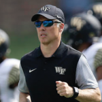 Dave Clawson has Wake Forest bowl eligible for the first time since 2011. (AP Photo)