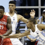 Seventh Woods played a career high 22 minutes in the win over Radford. (AP Photo).