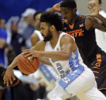Joel Berry is averaging 14.8 points per game as a junior. (AP Photo)