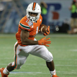 Mark Walton runs