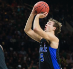 Luke Kennard shoots