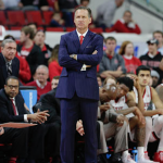 Mark Gottfried stands