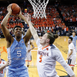 Tony Bradley goes up