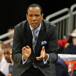 Kevin Keatts claps