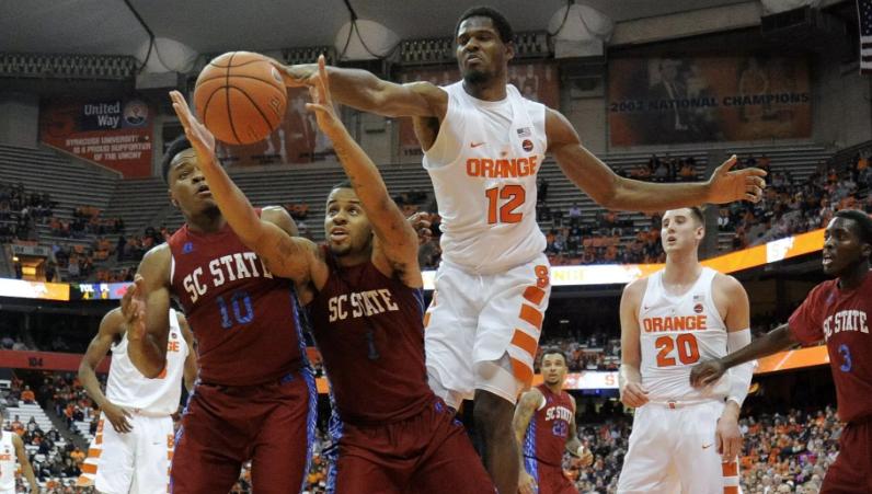 Syracuse Freshman Big Man Oozes Potential Accsports Com